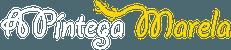 Logo A Píntega Marela trasparente