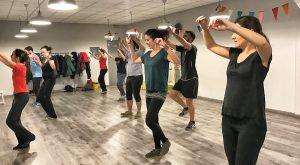Clases de baile gallego en Madrid en A Píntega Marela