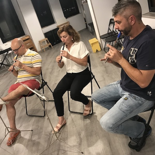 Clases de Tin whistle en Madrid