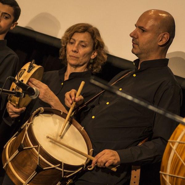 Clases de percusión gallega online