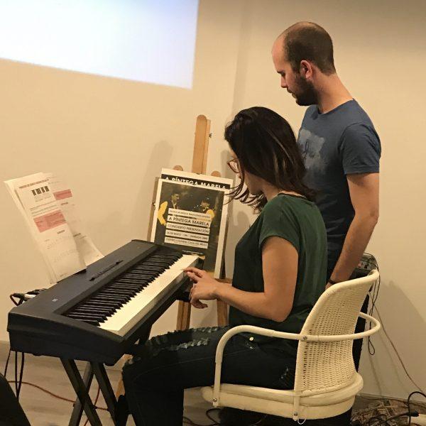 Clases de piano moderno en Madrid