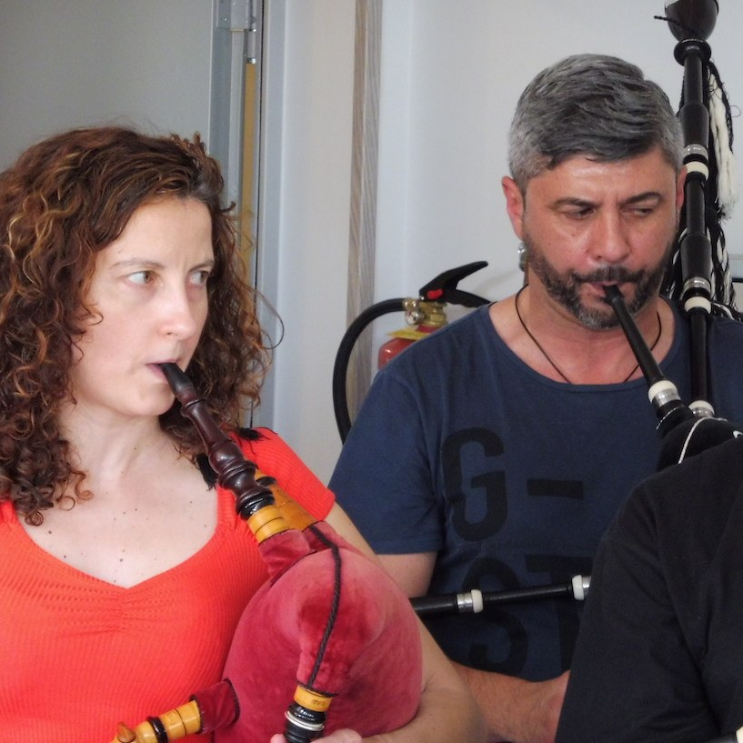 Clases de gaita gallega en Madrid