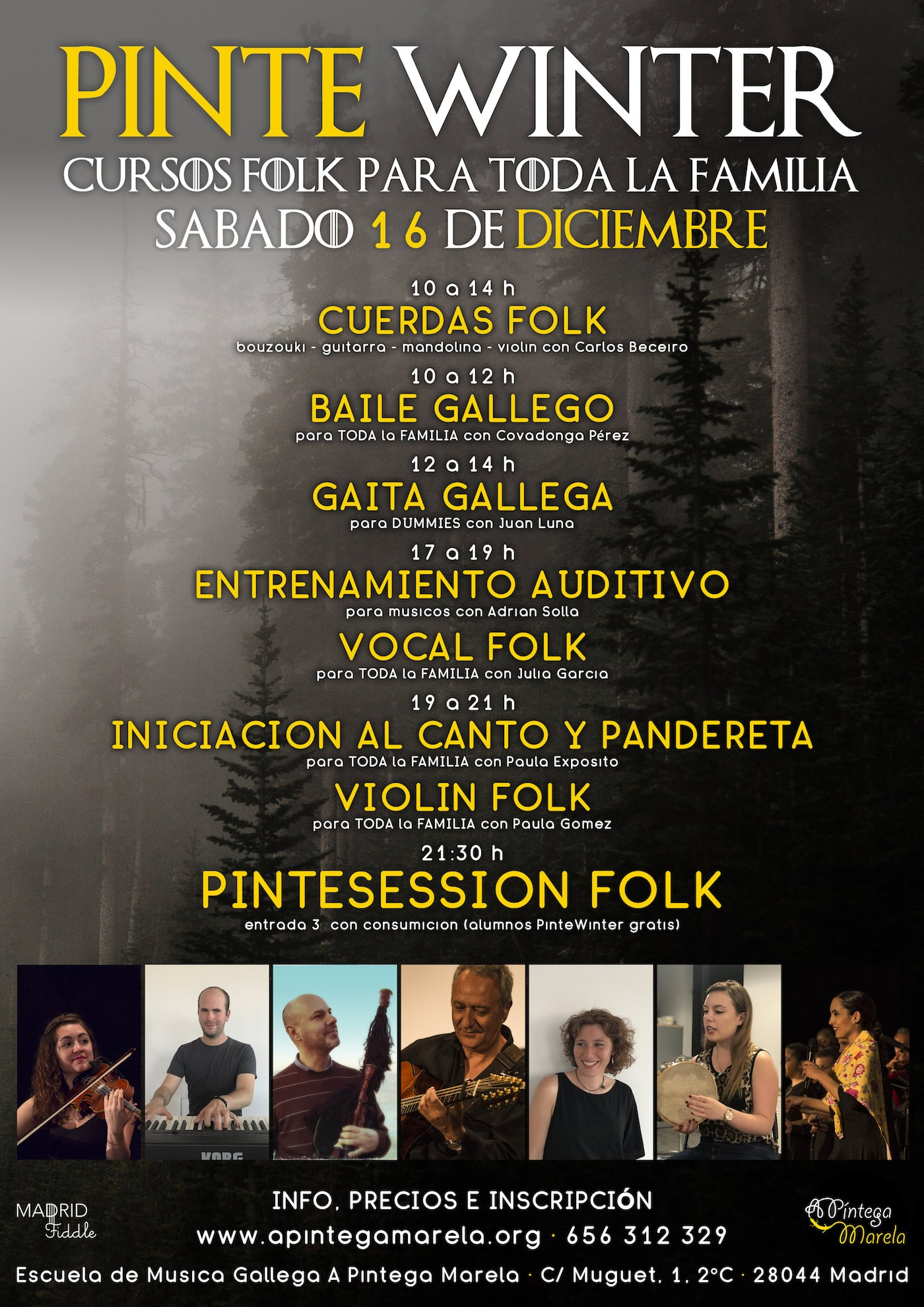 Cartel PinteWinter 2017