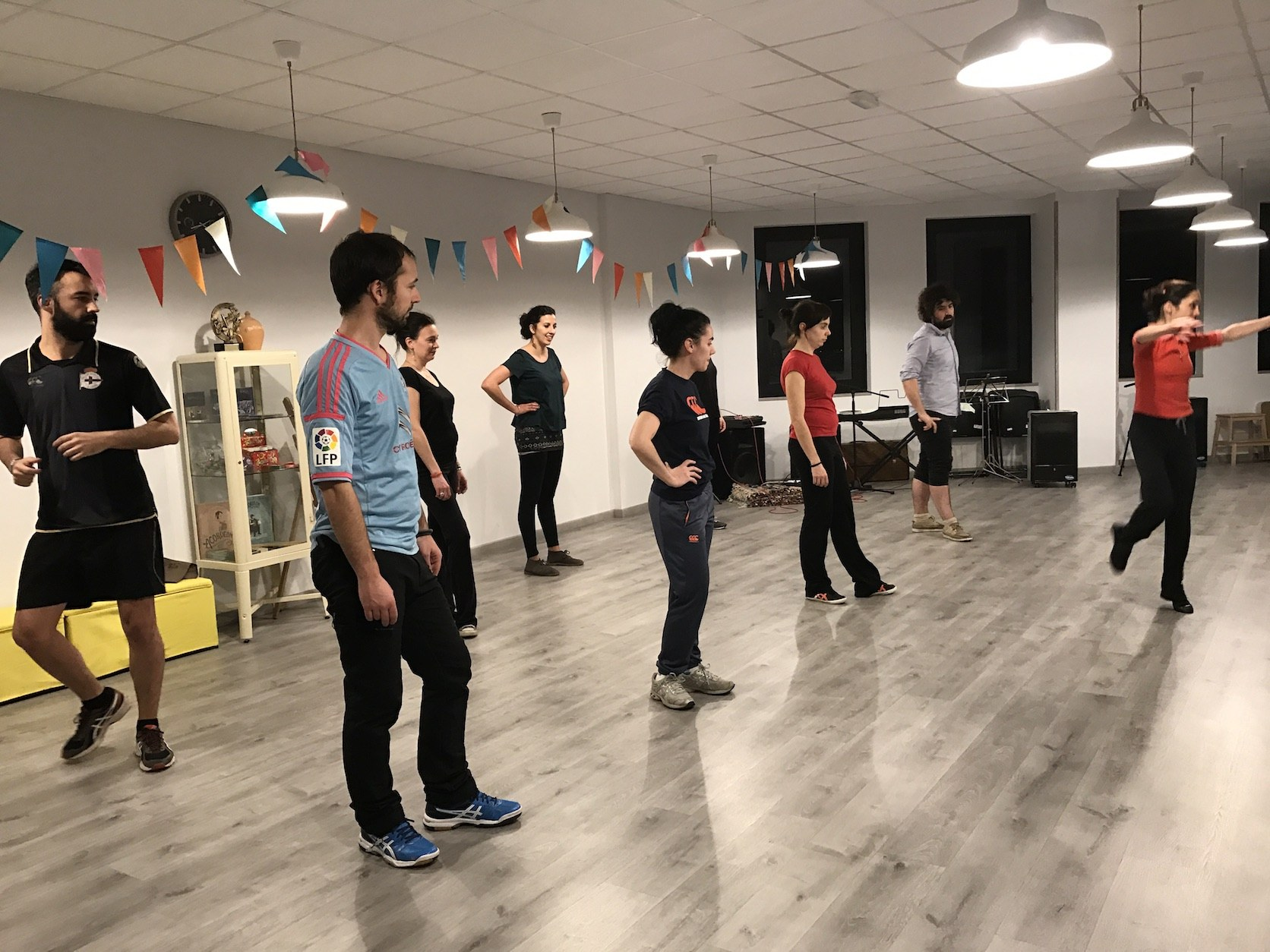 música de baile gallego clases muñeira madrid
