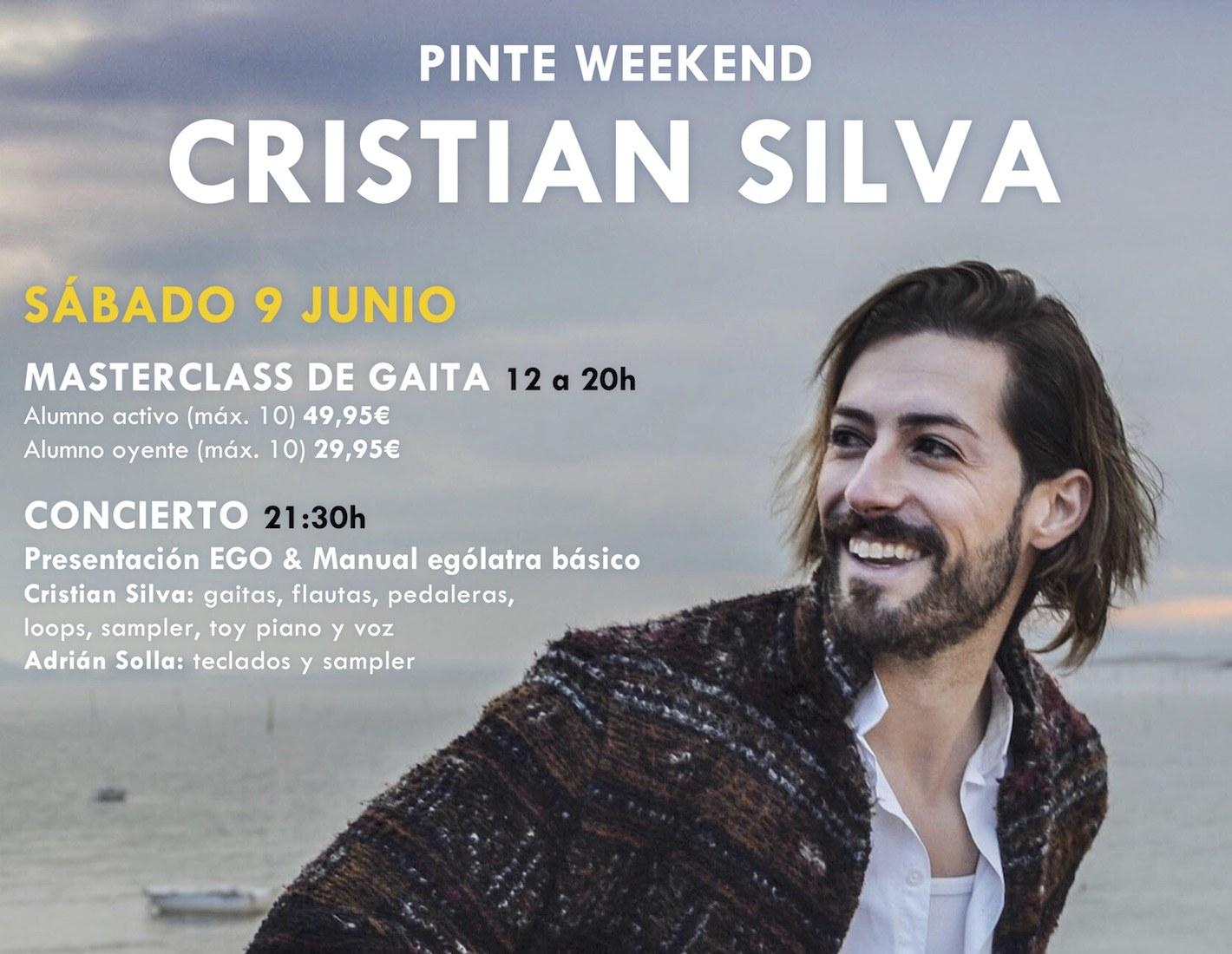 PinteWeekend concierto de Cristian Silva en Madrid Masterclass
