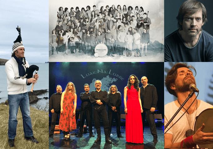 artistas música gallega Carlos Nuñez
