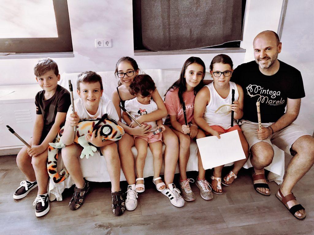Clases de tin whistle en Madrid para niños