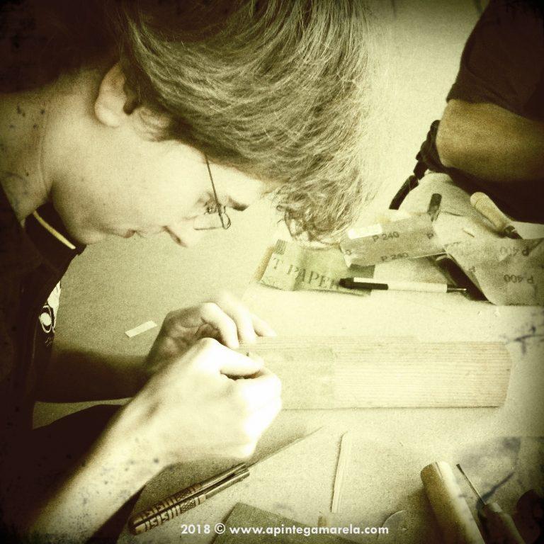 Cómo construir tus propias palletas de gaita (II parte) - A Píntega Marela