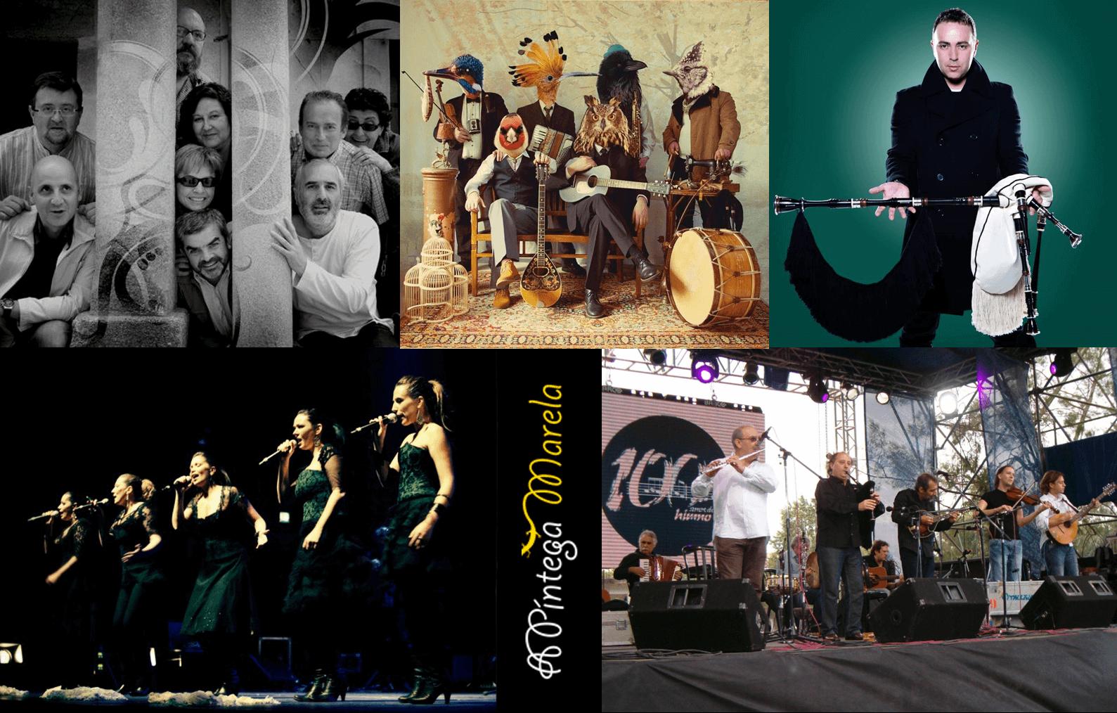 grupos Música gallega actual