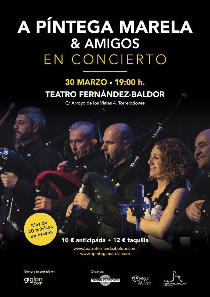 A Píntega Marela & amigos en concierto en Torrelodones