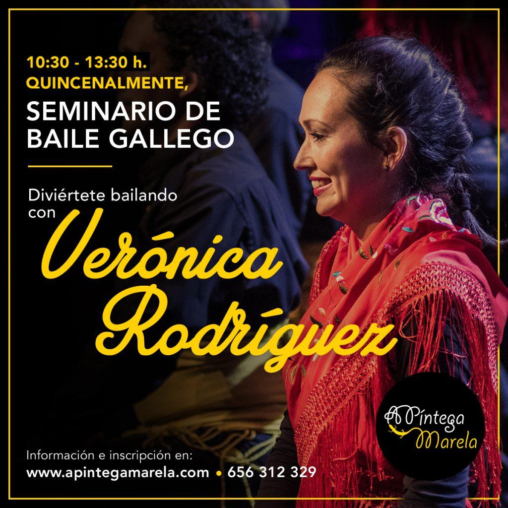 Seminario de baile gallego en Madrid - Carabanchel · A Píntega Marela