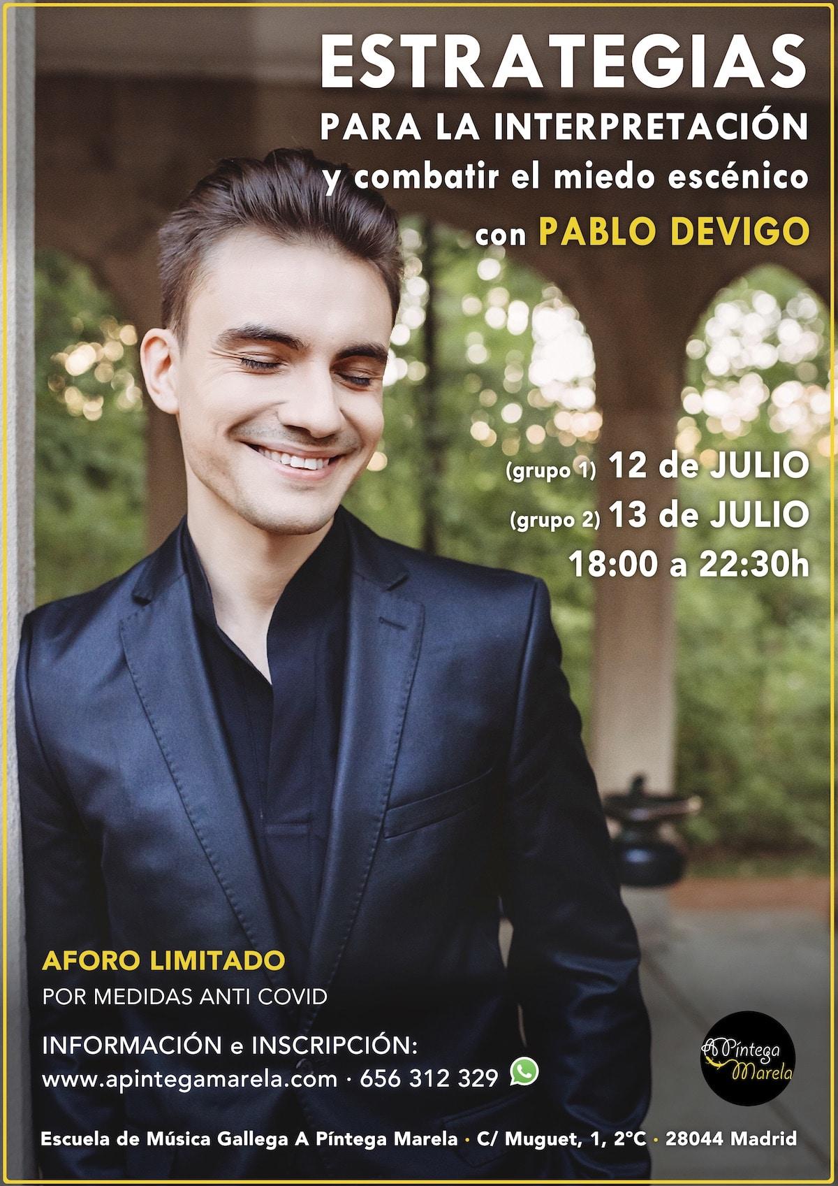 Pintesummer 2021 Curso Estrategias interpretación Pablo Devigo - A Píntega Marela