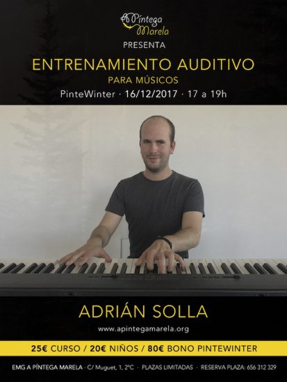 Cartel de entrenamiento auditivo Pintewinter 2017